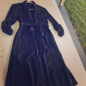 Forever 21 black trench coat